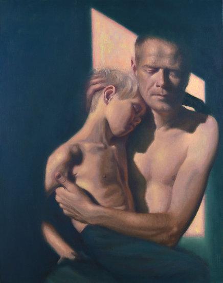Buy art Buy art online Francien Krieg Painting Original work on Linen Signed Affordable Europe Belgium Brussels Ghent