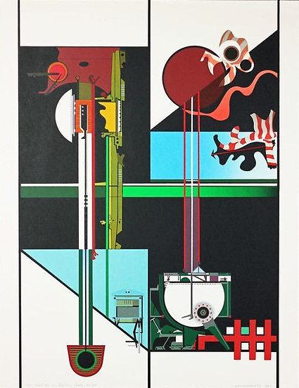 Buy art Buy art online Louis Ghysebrechts Signed Numbered Serigraph Affordable Europe Belgium Brussels Ghent