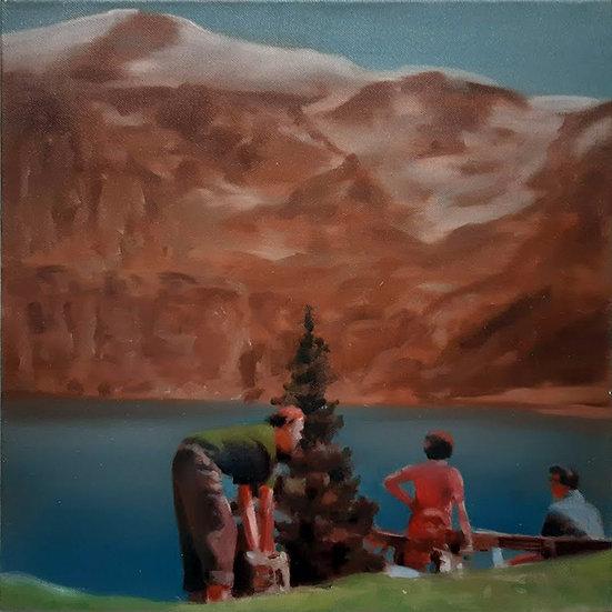 Buy art Buy art online Erwin van Krey Original work on canvas Painting Affordable Signed Europe Belgium Ghent Brussels