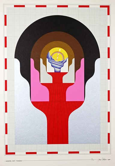 Buy art Buy art online Jens Lausen Signed Lithograph Affordable Europe Belgium Brussels Ghent