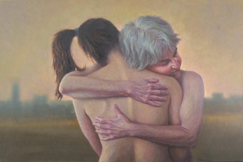 Buy art Buy art online Francien Krieg Painting Original work on Linen Affordable Signed Europe Belgium Brussels Ghent