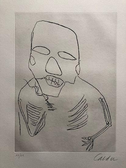 Buy art Buy art online Alexander Calder Original Etching Hand Signed Affordable Europe Belgium Brussels Ghent