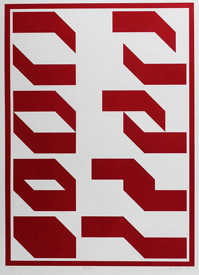 Buy art Buy art online Bernard Villers Lithograph Signed Affordable Europe Belgium Brussels Ghent