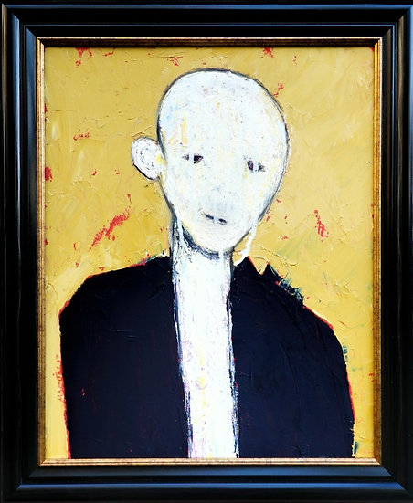 Buy art Buy art online Craig Martin Painting Oil Mixed Media Signed Affordable Europe Belgium Brussels Ghent