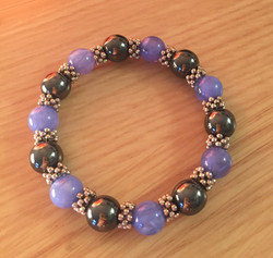 Bracelet hematite 5€