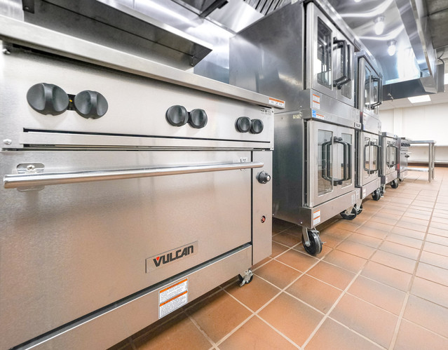 Baking stations