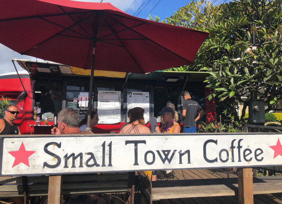 A real local treat: Small Town Coffee
