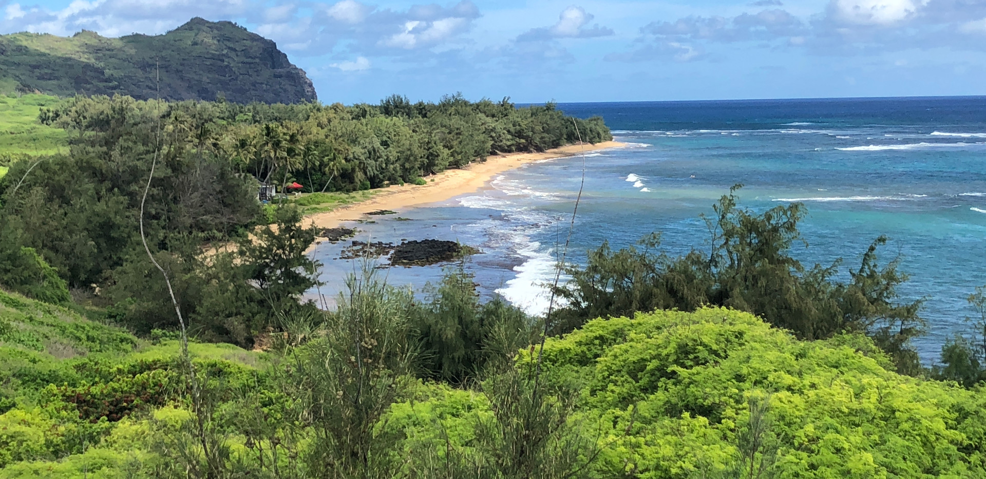 Remote Beach south of Kipu Kai