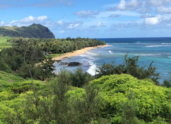 Remote Beach south of Kipu Kai