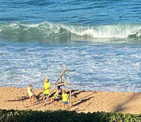 Build a Beach Sculture