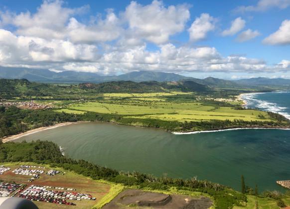 Hanamaulu Bay and the Coconut Coast