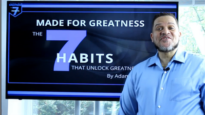 Introducing my Brand New Online Course:  Made For Greatness: The 7 Habits