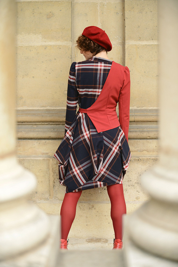 Robe Napoleon Rouge