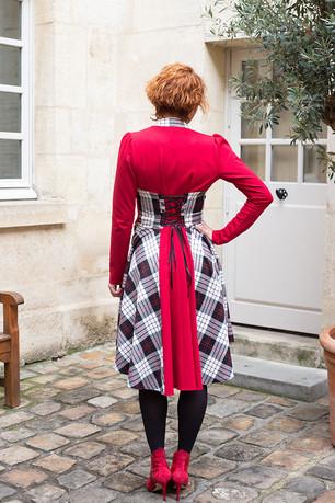 Robe Rafale rouge