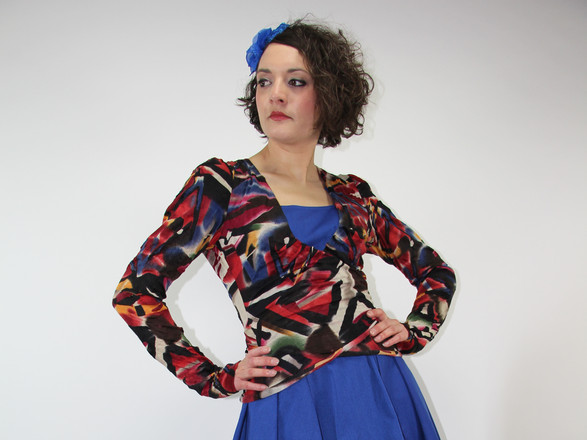 Robe Lilou + Gilet Phaélie