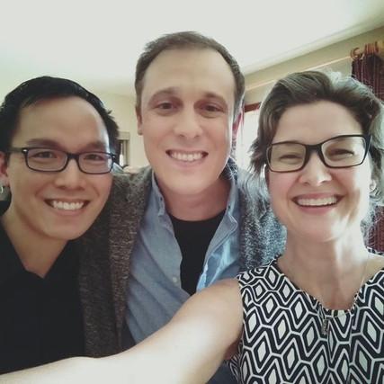 Avec Grégory Turpin et Phi Lan Nguyễn-Vũ