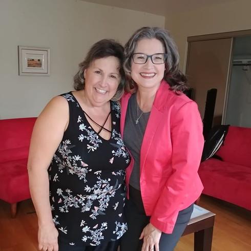 Avec Marthe Laverdière