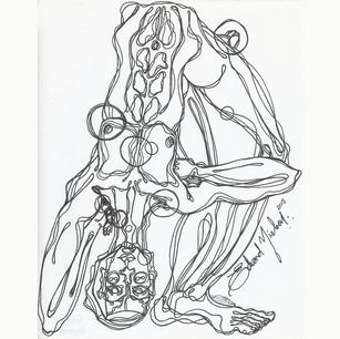 DRAWING-EDVARD-NIELSEN-SPIRITUAL SCIENCE