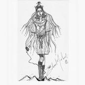 EDVARD-NIELSEN-EARLY-WORK-MOUNTAIN WOMAN