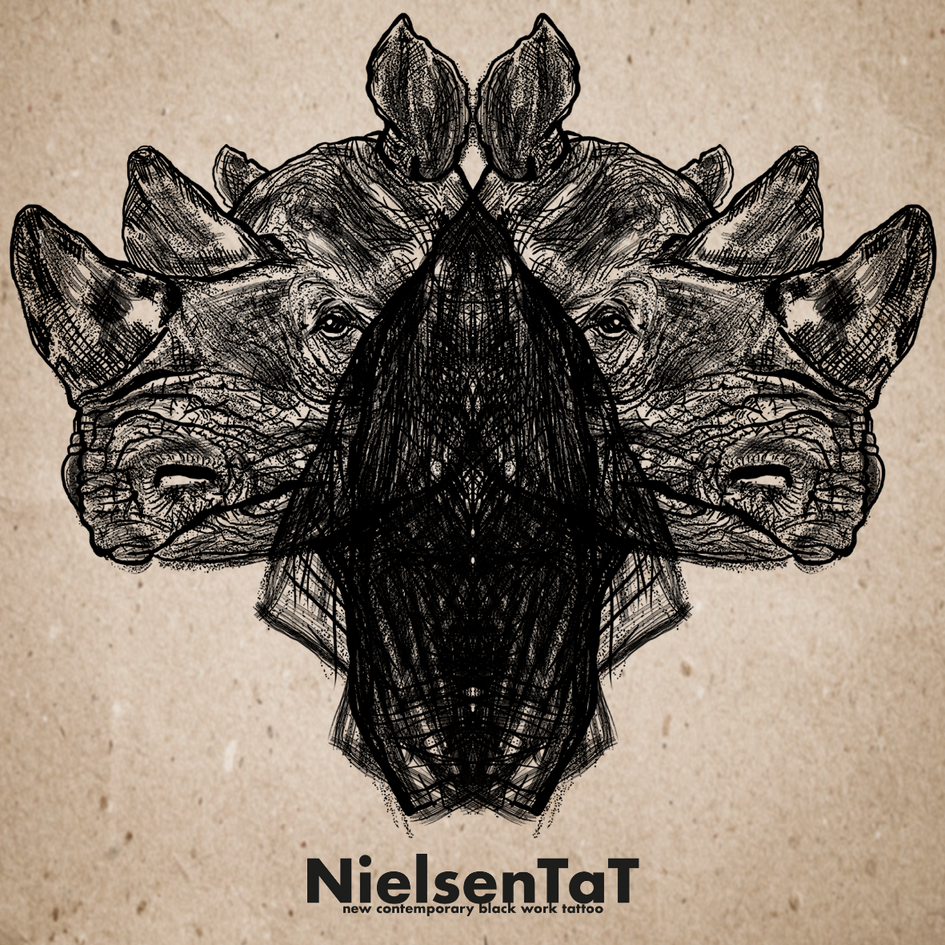 Tattoo-Nielsen-Tat-Animals-Sketch-Rhinos
