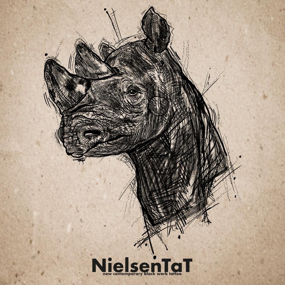 Tattoo-Nielsen-Tat-Animals-Sketch-Rinho.