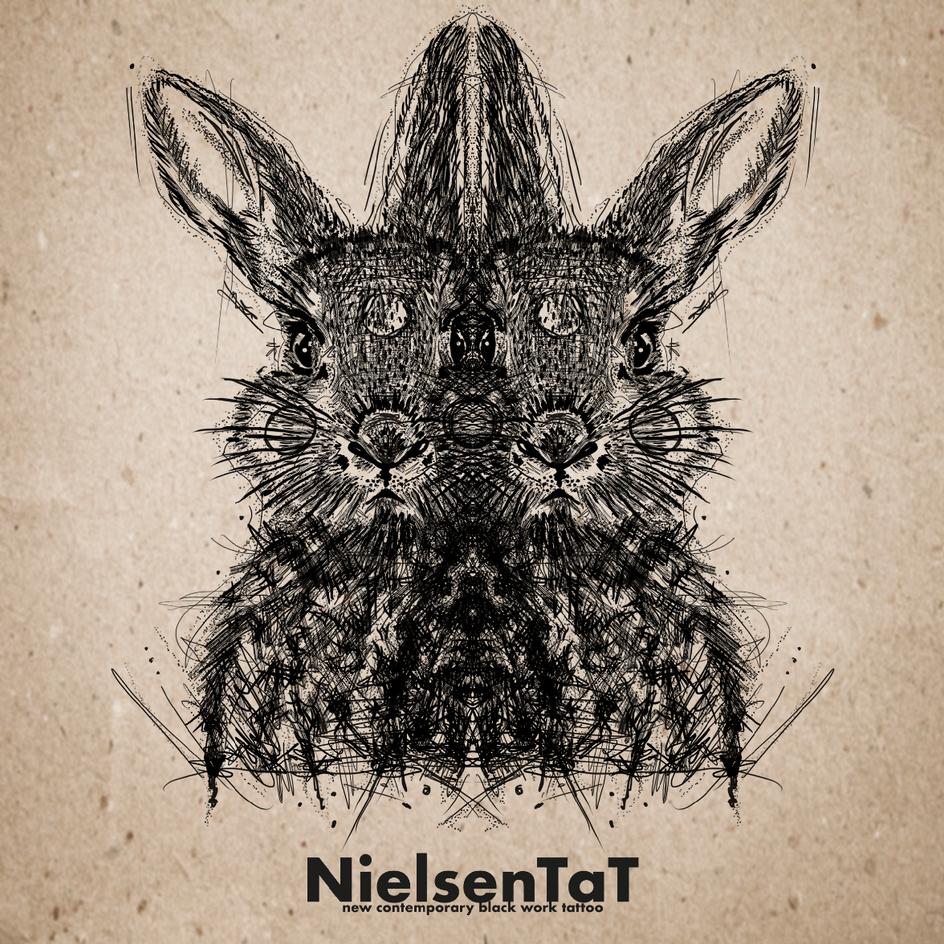 Tattoo-Nielsen-Tat-Animals-Sketch-Rabbit