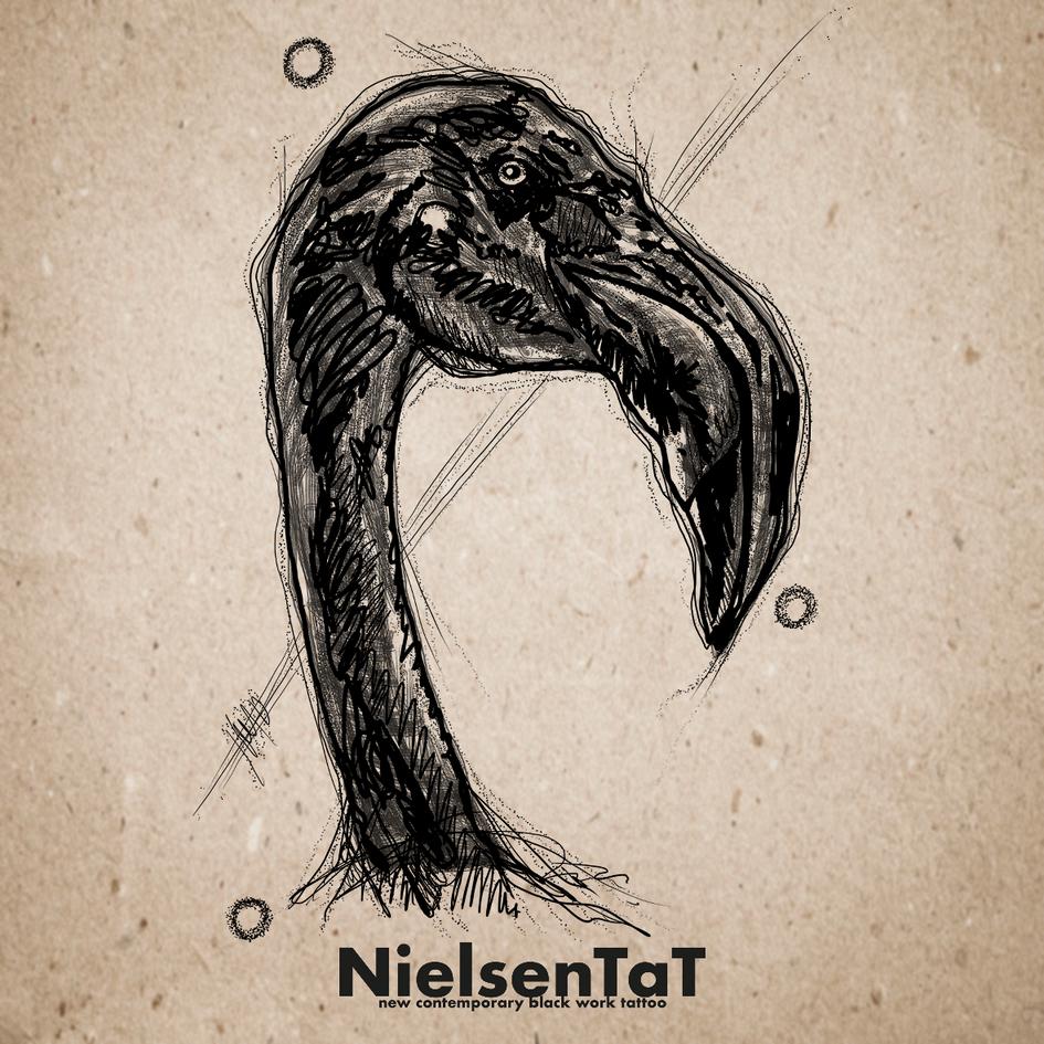 Tattoo-Nielsen-Tat-Animals-Sketch-Flamin