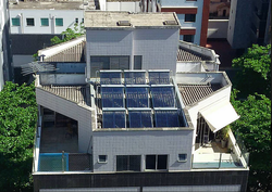 Aquecimento Solar a vácuo