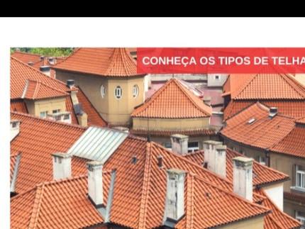 Conheça os tipos de telha