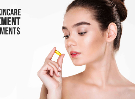 4 Key Skincare Supplement Requirements