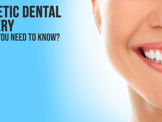 Cosmetic Dental Surgery:  What You Need to Know
