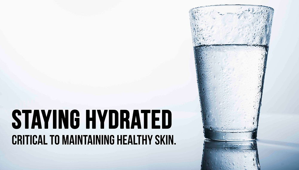 Staying Hydrated is critical to maintaining healthy skin. HealFast Rejuvenate