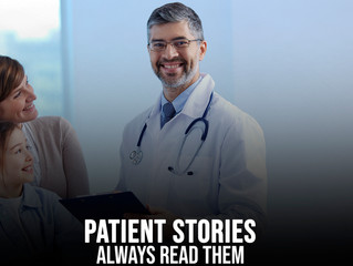 Cosmetic Surgery Patient Stories:  Always Read Them