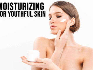 Moisturizing For Youthful Skin - Here's Why