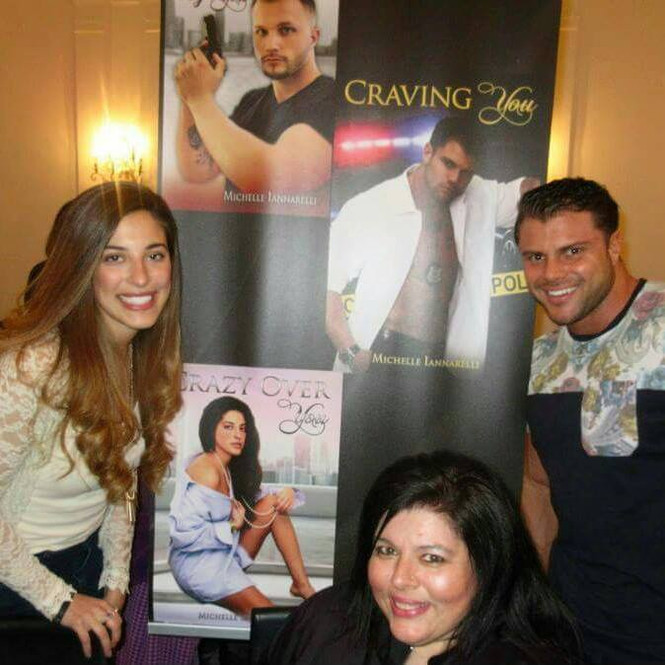 Had a great time in NYC with my models Michael John Anthony Toscano & Alli Theresa