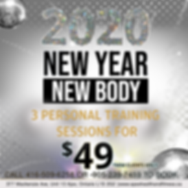 2020-New Year New Body- Personal Trainin