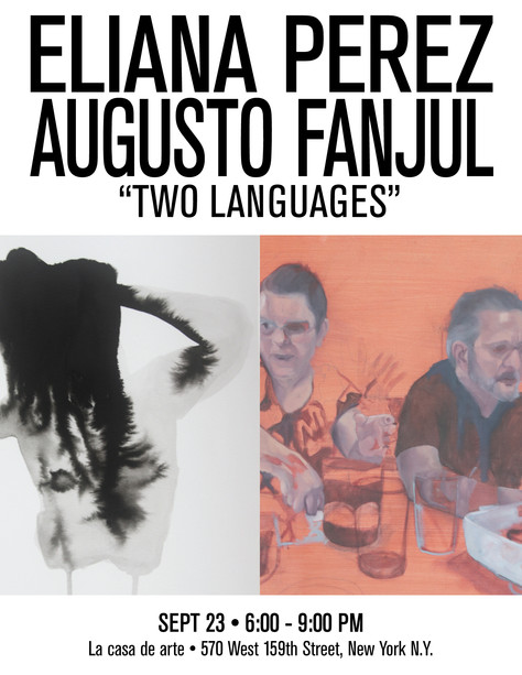 """Opening Reception for """"Two Languages"""""""