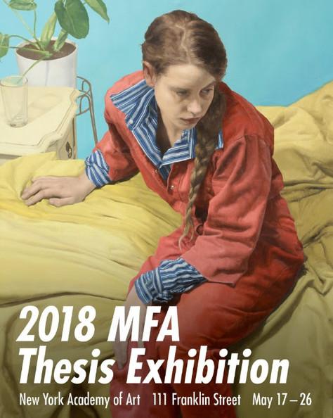 2018 MFA Thesis Exhibition