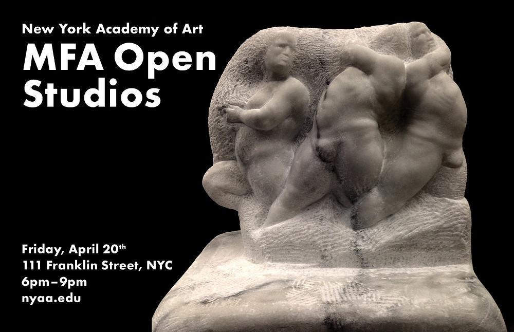 MFA Open Studios Invitation