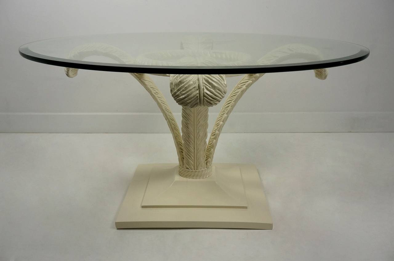 Prince of Wales Plume Cocktail Table