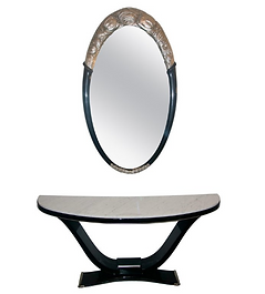 Black and Silver Console and Mirror.png