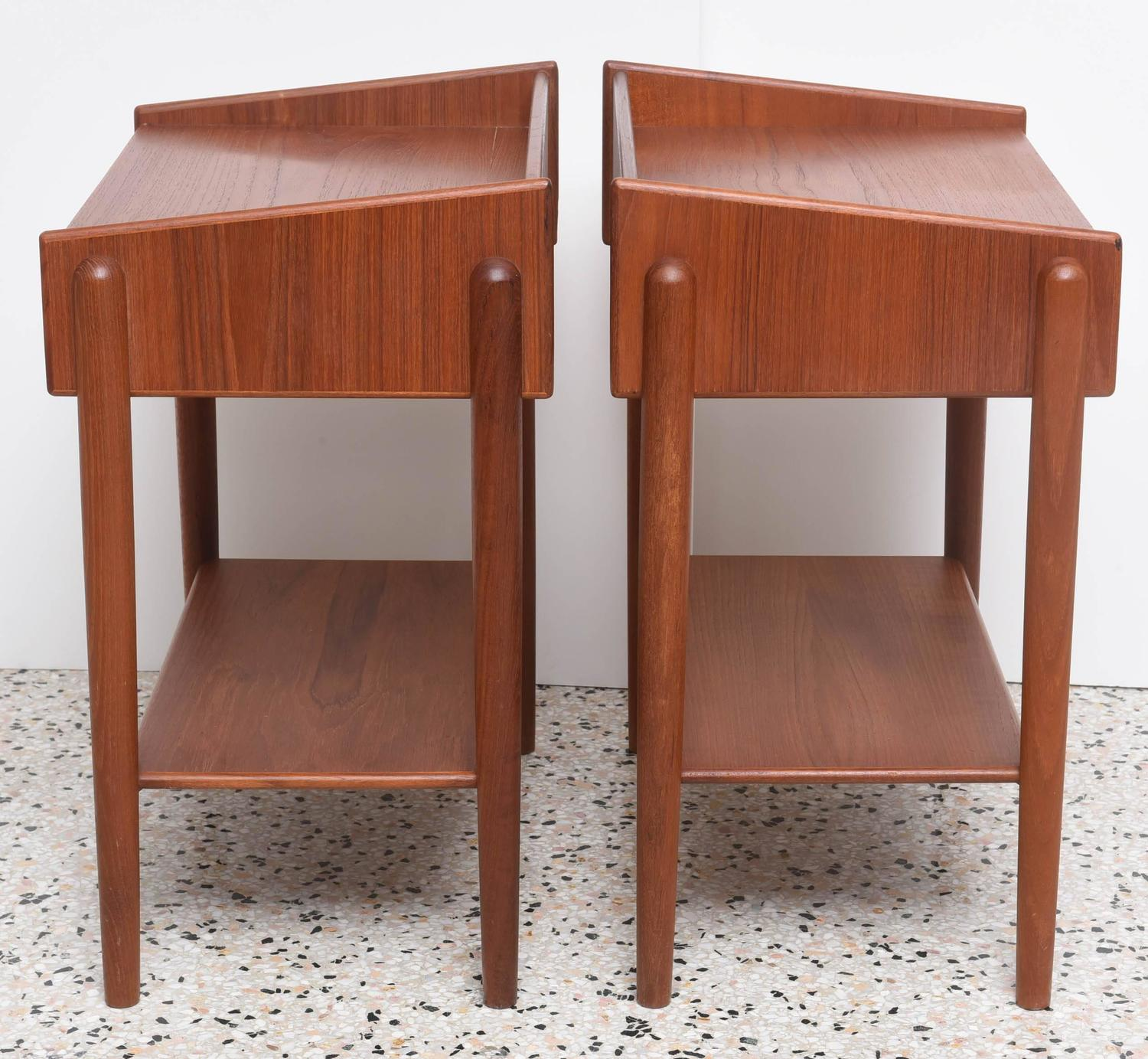 Pair of Danish Side Tables