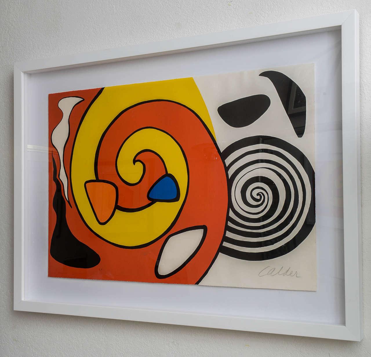 Alexander Calder, Circa 1965