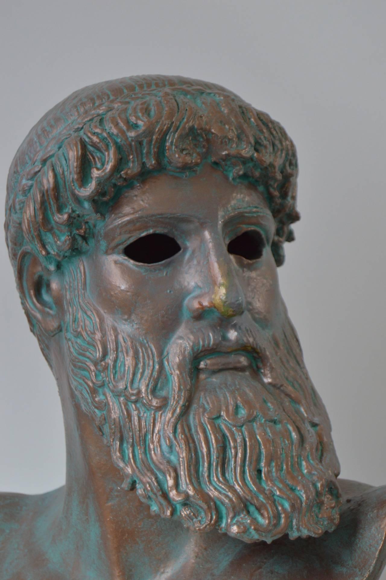 Illuminated Bust of Promethius