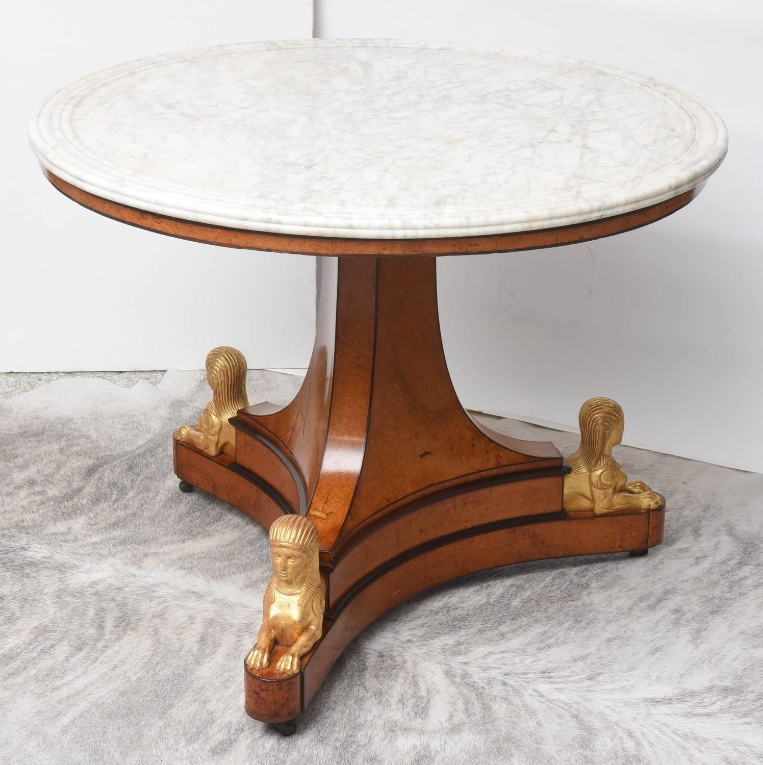 Charles X Center Table