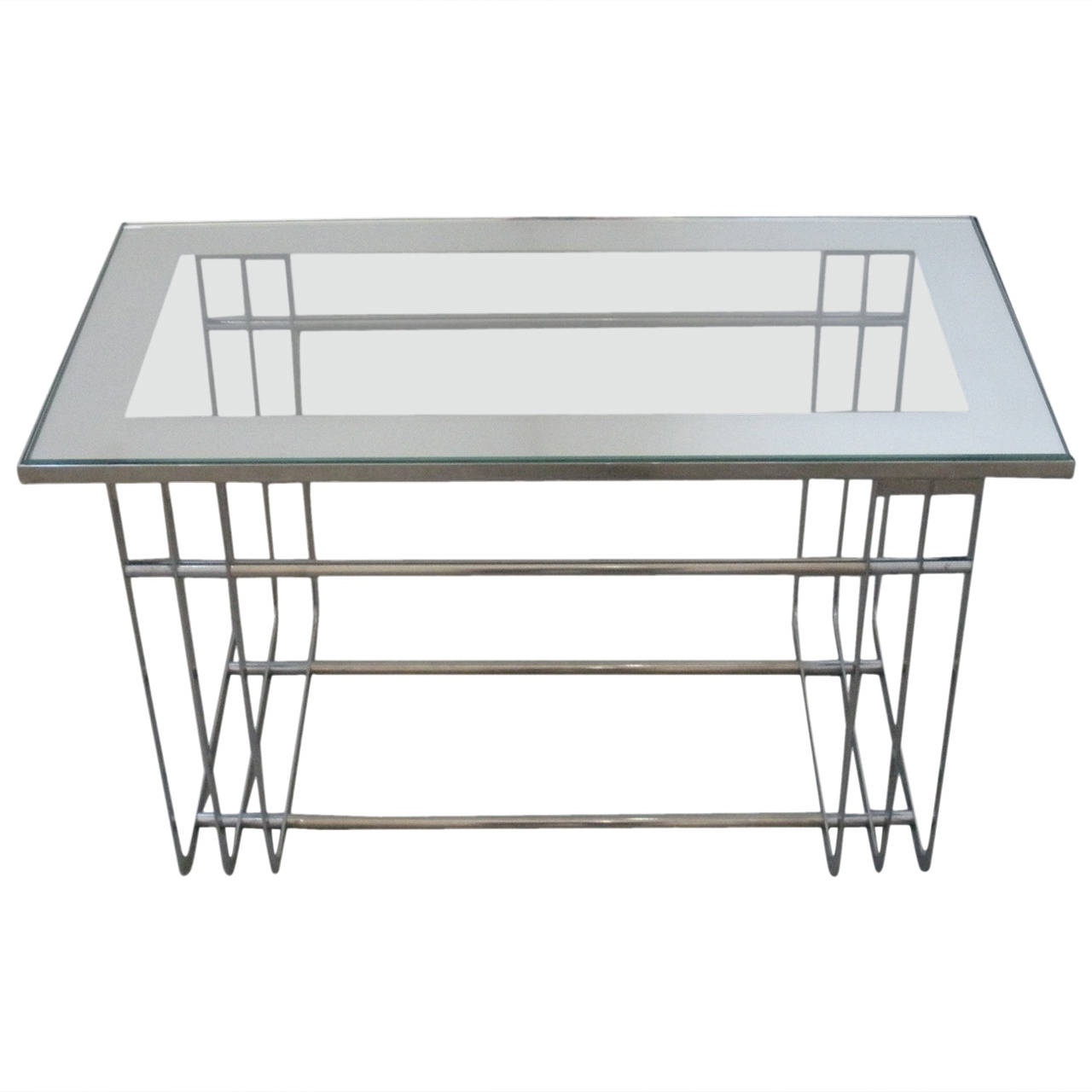 American Art Deco Moderne Table