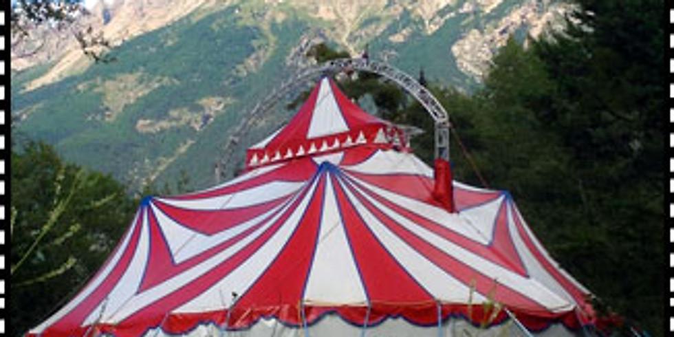 Séjour Cirque,        8-11 ans, Mont Dauphin