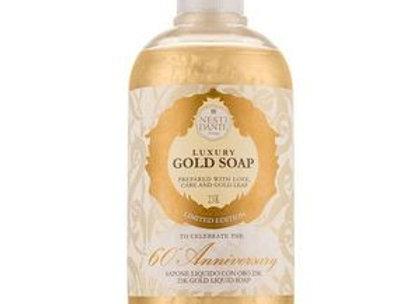 Tekuté mýdlo Gold  500 ml