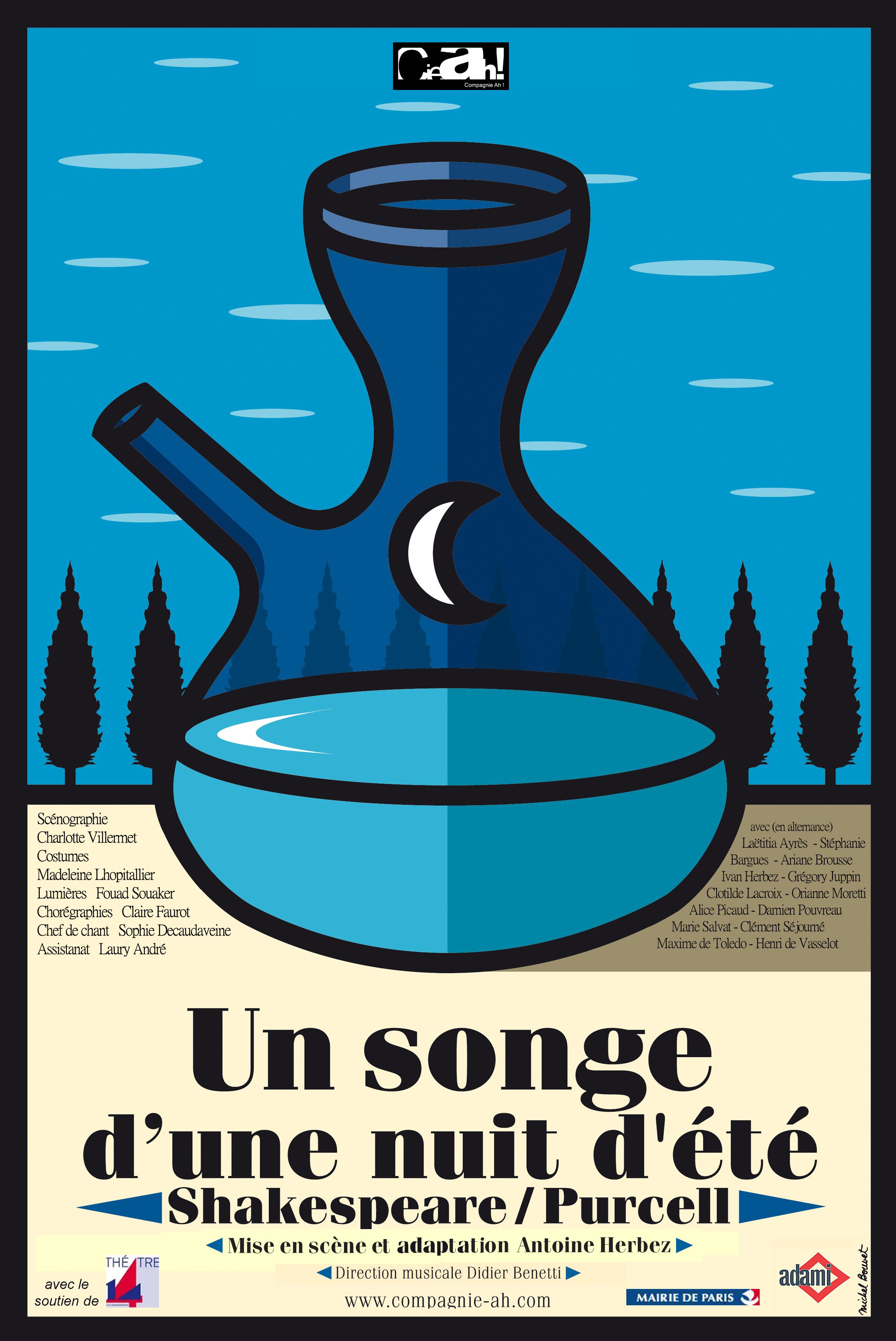 affiche Songe 20X30 sans theatre