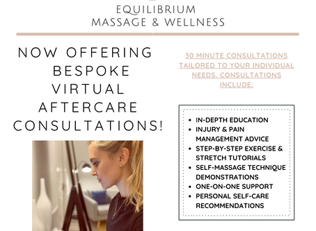 NOW OFFERING BESPOKE VIRTUAL CONSULTATIONS!